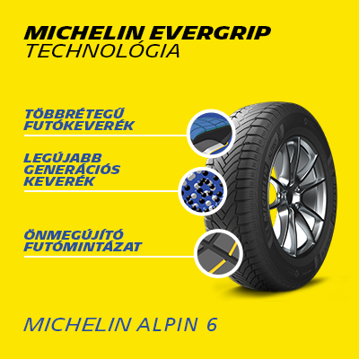 Michelin evergrip