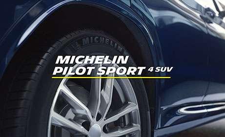 Kiemelkedő minőségű nyári gumi a városi terepjárókhoz, a Michelin Pilot Sport 4 SUV
