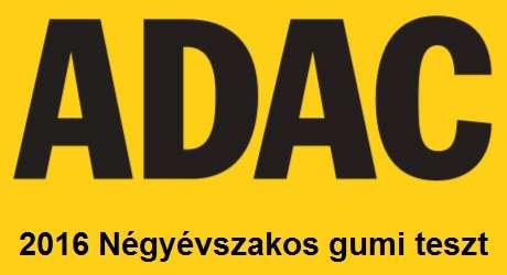 ADAC 2016 négyévszakos gumi teszt