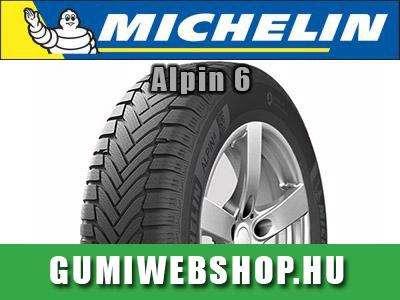 Michelin Alpin 6 téligumi: Jó tapadás, kiváló úttartás!
