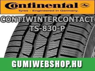 Continental ContiWinterContact TS 830 P gumi – egyedülálló tapadás bármilyen helyzetben!